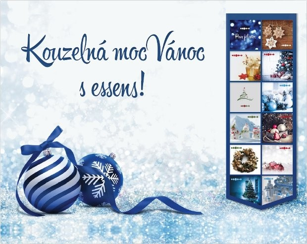 Vánoční dárkové sady Essens - voňavý dárek, který potěší!